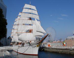 帆船日本丸 横浜みなと博物館